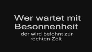 Rammstein - Rammlied (lyrics) HD