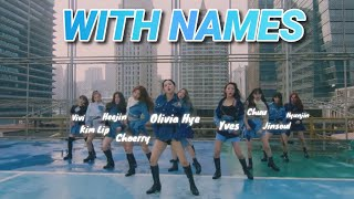 LOONA So What MV WITH NAMES