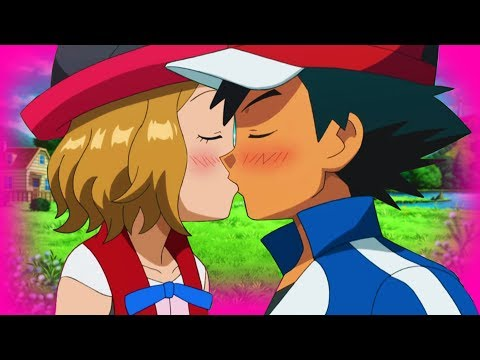 ASH X SERENA KISS - AMOURSHIPPING ❤️💚💙  「POKEMON XY AMV」