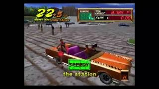 Crazy Taxi 2 Around Apple with Cinnamon