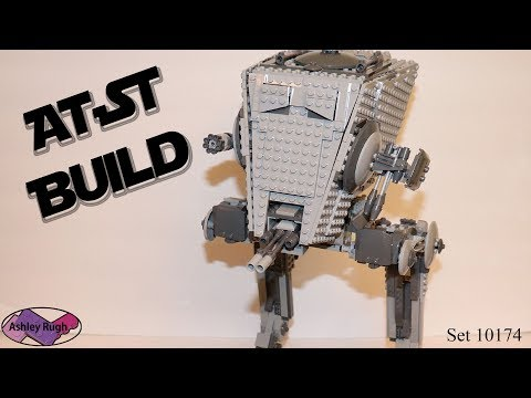 Lego 10174 AT-ST Build