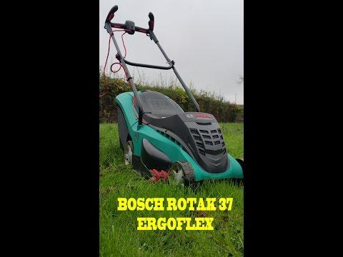 Bosch Rotak 37 ergoflex Electric Rotary LawnMower - A Short Review