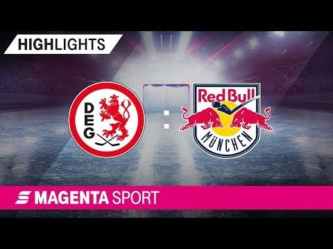 Düsseldorfer EG - EHC Red Bull München | 39. Spieltag, 18/19 | MAGENTA SPORT