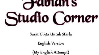 Surat Cinta Untuk Starla (English Cover)