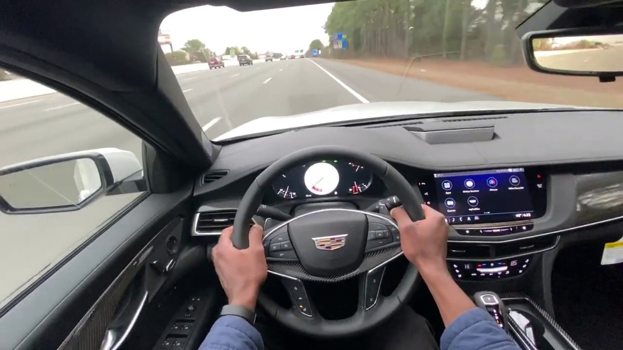 2020 Cadillac Ct6 V Is 96 000 Of Omg The Flagship V Series Test Drive And Review Youtube
