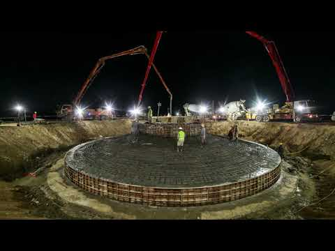 How Wind Turbines Farm is Constructed ?? Installation Timelapse - OES Zephyr