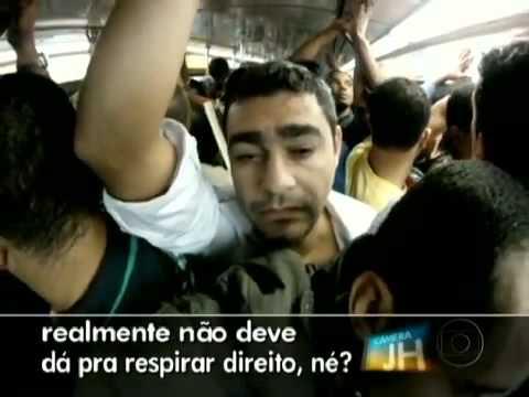 Metrô do Rio - Reportagem do Jornal Hoje