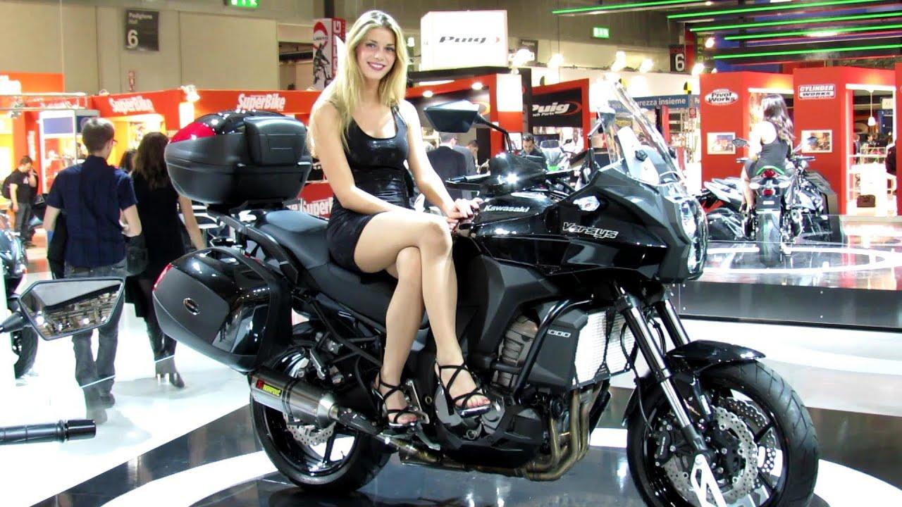 2014 kawasaki versys 1000 walkaround - 2013 eicma milan motorcycle