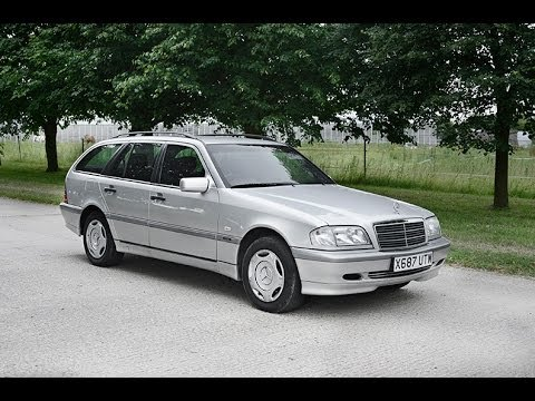 2001 mercedes c200 kompressor estate wagon video youtube. Black Bedroom Furniture Sets. Home Design Ideas