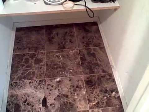 Emperador Dark Cafe Marble Tile Bathroom Floor YouTube