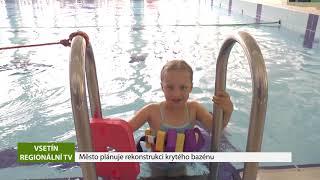 VSETÍN: Město plánuje rekonstrukci krytého bazénu
