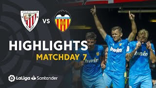 Highlights Athletic Club vs Valencia CF (0-1)
