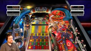 Pin*Bot - Pinball Hall of Fame: The Williams Collection (XBox 360) (Part 3) - Croooow Plays