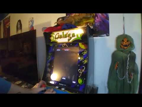 Let's play some Galaga on my Arcade1up from CINEMA DADDO