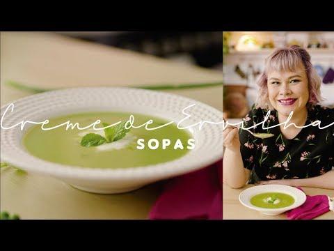 SOPA DE ERVILHA (pra servir fria) | Sopas e Cremes