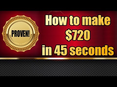 High Volatility Trading EURUSD - How to make $720 in 45 sec.