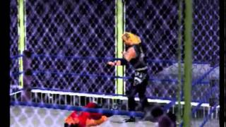 WCW/NWO Thunder:  Diamond Dallas Page vs. Chris Benoit (Cage Match)