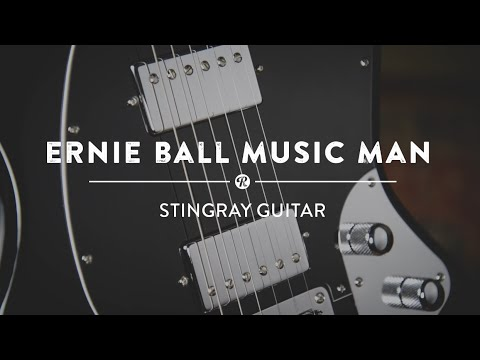 Ernie Ball Music Man Stingray Guitar   Reverb Video Demo