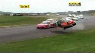 Porsche crash autosport