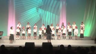 第14回リリック音楽祭、和紙のふるさと合唱団の合唱