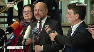 Statement von Martin Schulz zum Abschluss der Sondierung am 15.01.18