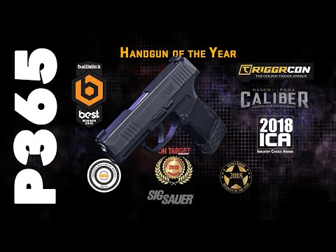 SIG SAUER P365 with Manual Safety Now Shipping - Soldier