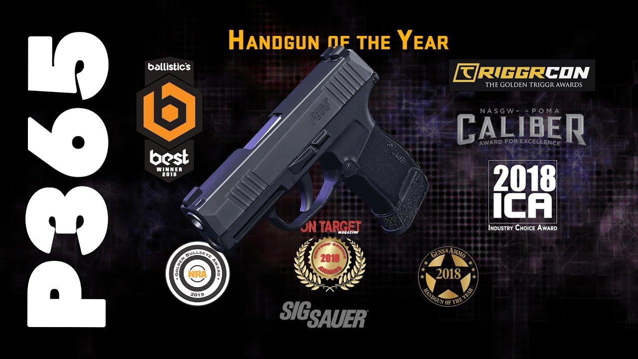 SIG SAUER P365 Handgun Of The Year