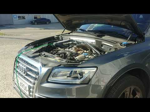 Q5 45 tdi brown gas carbon cleaning