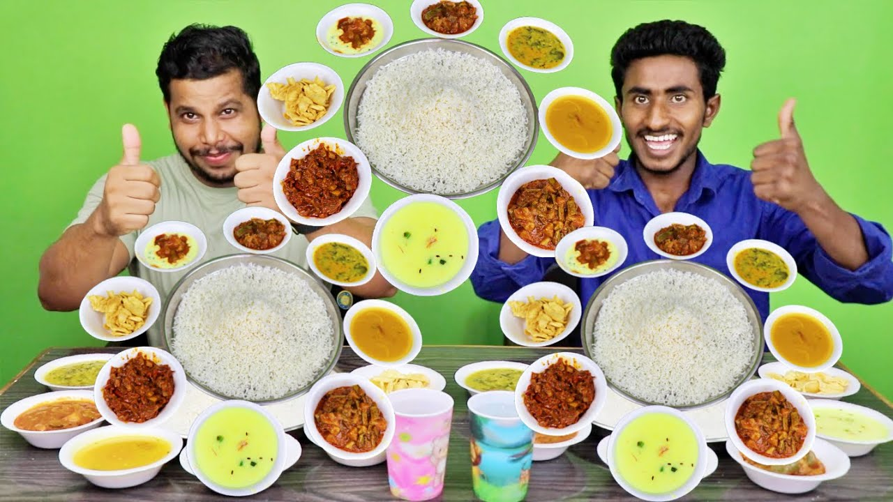 DIFFERENT TYPES OF VEG FOOD EATING CHALLENGE WITH PATLU