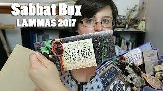 The Sabbat Box: Lammas 2017 //  🌾 Kitchen Witchery 🍞 // Unboxing