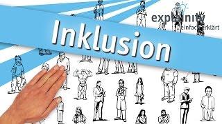 Inklusion einfach erklärt (explainity® Erklärvideo) UT