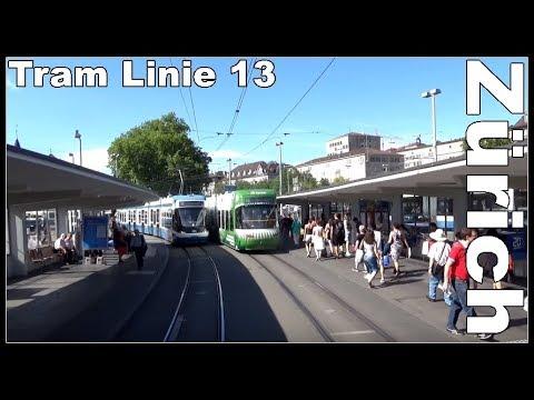 Vom Sihlquai HB zur Bahnhofstrasse Zürich / Mit dem Tram um den Hauptbahnhof