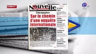 LA REVUE DES GRANDES UNES DU MARDI 17 DÉCEMBRE 2019 EQUINOXE TV