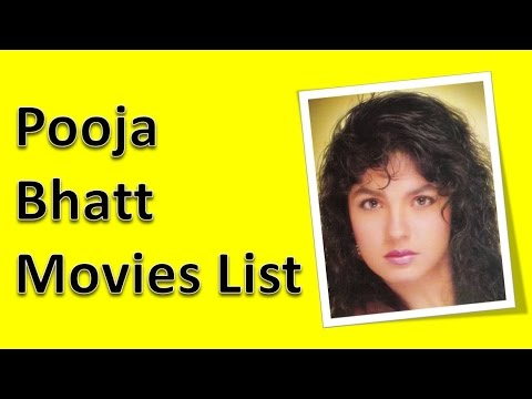 Pooja Bhatt Movies List