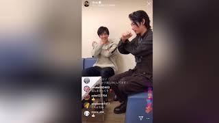 インスタライブ シャーロック DEANFUJIOKA 2019/10/07.