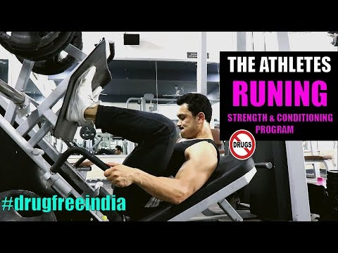 THE ATHLETES- RUNNING  Complete Strength & Conditioning Workout Program  [FREE]