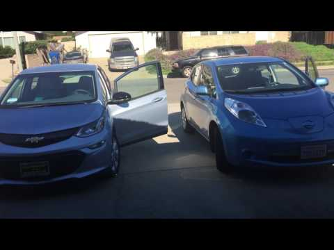 Changing from Nissan LEAF to Chevy Bolt