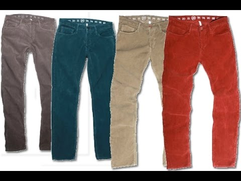 Mens Corduroy Pants - YouTube