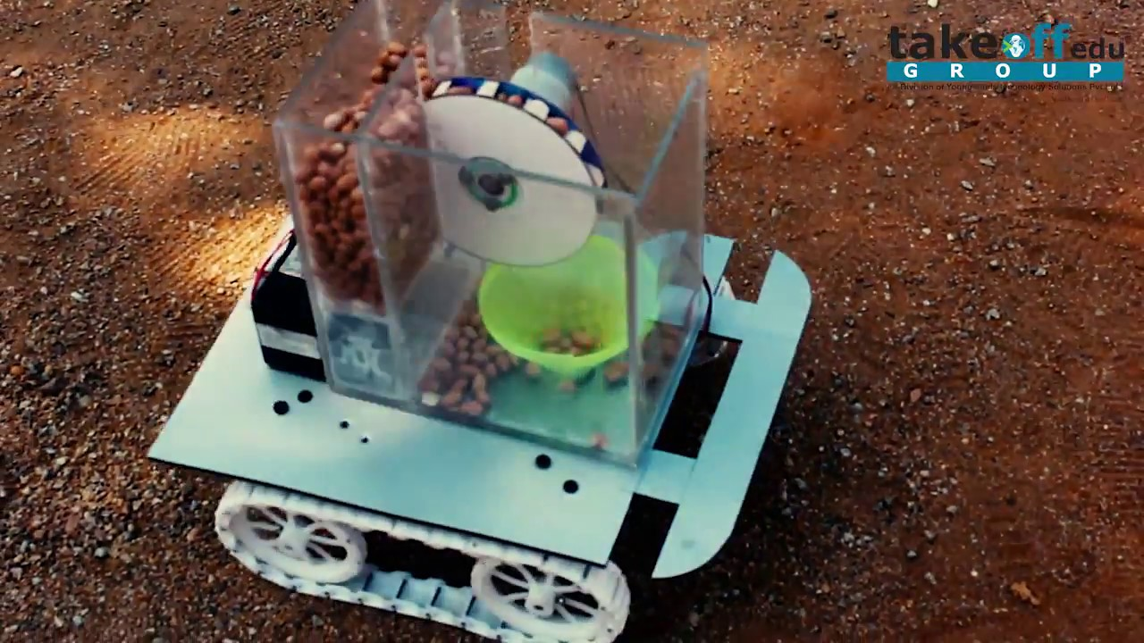 Automatic Seed Sowing Robot Project #1