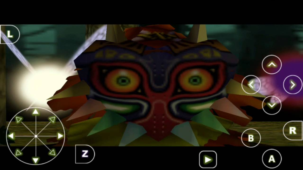 zelda majoras mask rom