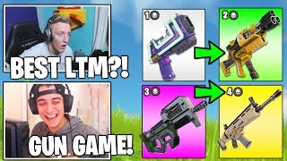 STREAMERS Reacts TO *NEW* Gun Game LTM Coming To FORTNITE! (Fortnite Moments)