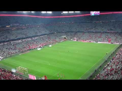 Cool Experience @ Allianz Arena in Muenchen/Munich