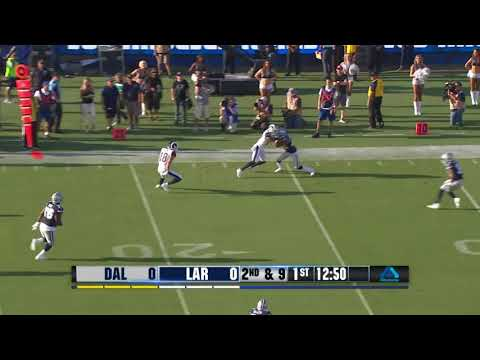 Jared Goff To Cooper Kupp 1st Down Completion! |Rams vs Cowboys|