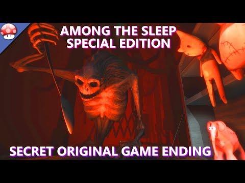 Among The Sleep Enhanced Edition Walkthrough Gameplay - Secret Ending - EVIL TEDDY!