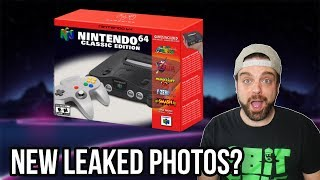 FIRST N64 Classic Pictures and Details LEAKED? | RGT 85