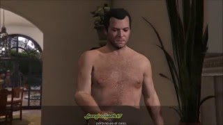 Gameplay Gta V (R7 360 ) Michael FLASHH