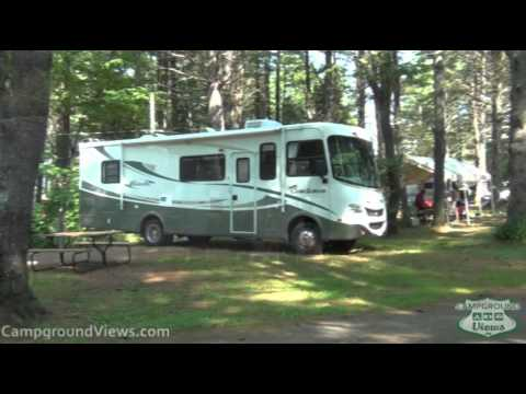 full hookup campgrounds in maine