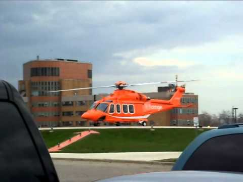 Ornge London Start Up and Lift Off