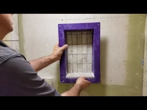 How To Install A Shower Niche In Details Step By Step