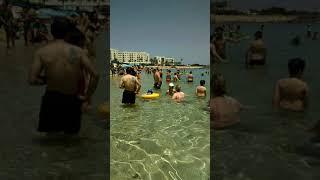 Кипр 2020 июнь пляж в Протарасе